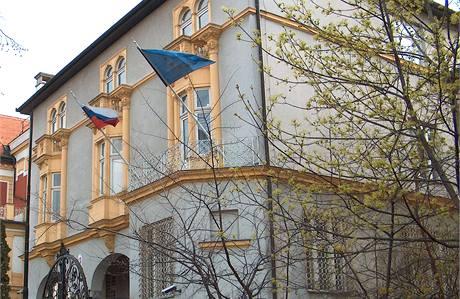 Budova slovenské ambasády v Budapešti.
