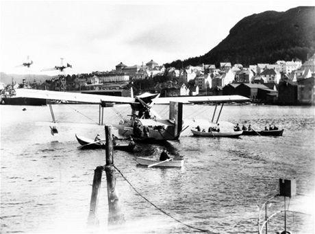 Hydroplán Roalda Amundsena - Latham 47