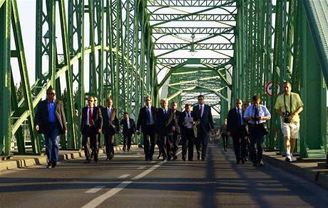 Slovensko odepřelo maďarskému prezidentovi Sólyomovi vstup na své území (21. srpna 2009)