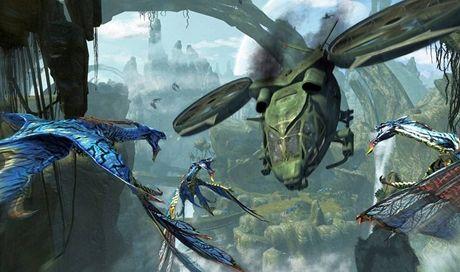 Ze zveřejněných záběrů filmu Avatar (James Cameron)