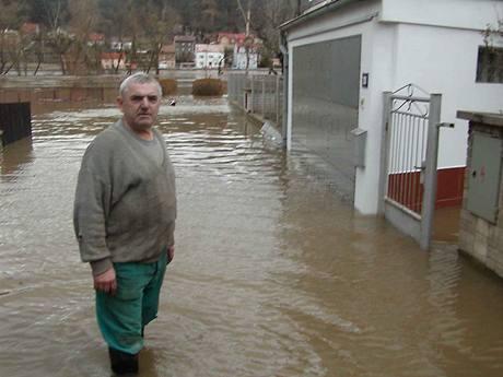 O povodně není u Labe nouze
