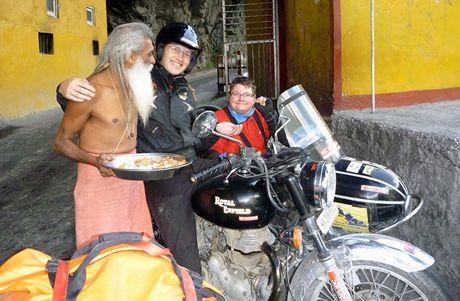 Vozíčkářka Jana Fesslová v sajdkáře na expedici v Himálaji