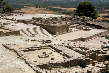Řecko, Kréta. Minojské město Faistos