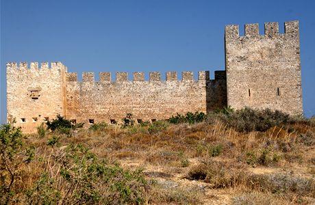Řecko, Kréta. Pevnost Frangokastelo