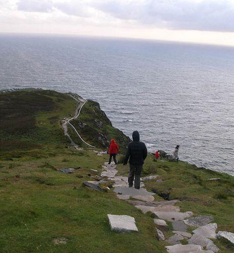 Irsko, donegalské útesy