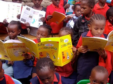 Nairobi, nákupy za darované příspěvky