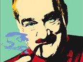 Tvůrci potisku trička strany TOP 09 se inspirovali u známého výtvarníka Andyho Warhola.