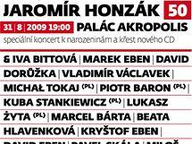 Jaromír Honzák: Koncert k narozeninám a křest nového CD