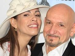 Manželé Daniela Lavenderová a Ben Kingsley