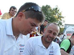Martin Prokop při autogramiádě