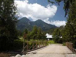 Slovensko. Naučný chodník Monkova Dolina (u Ždiaru), vrcholy Ždiarská Vidla a Havran