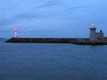 Irsko, přístav Howth