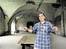 Martin Halada a horní středověká tvrz v Kestřanech
