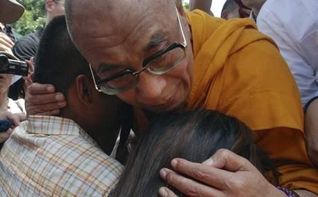Dalajlama na Tchaj-wanu (30. srpna 2009)