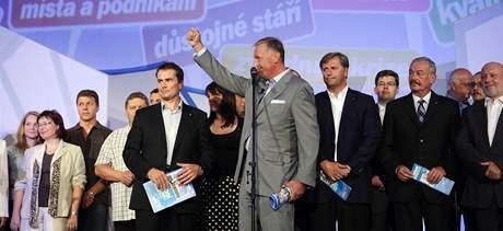 ODS představila na konci srpna svůj volební program