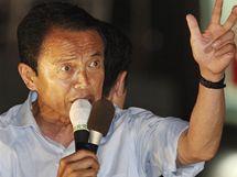 Předseda japonské Liberálnědemokratické strany Taró Aso