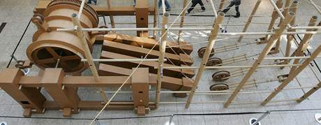 Výstava Pohyblivé kartonové světy ve Vaňkovce autora Bernarda Lagneaua