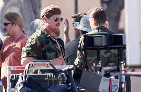 Z natáčení filmu The Men Who Stare at Goats - Jeff Bridges