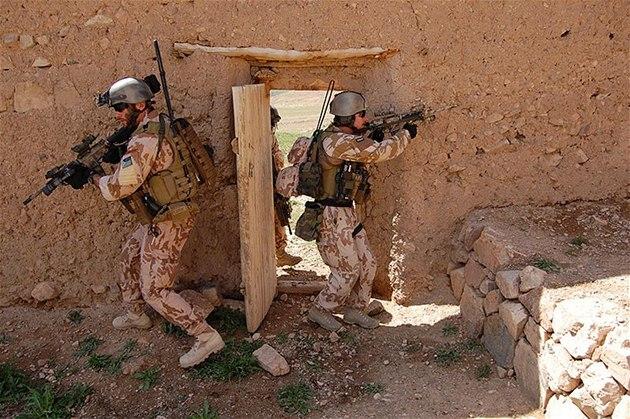 �eské speciální síly v Afghánistánu
