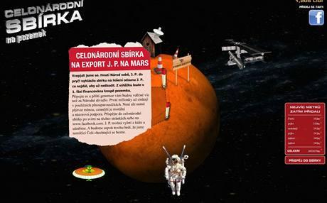 Stránky Paroubek na Mars