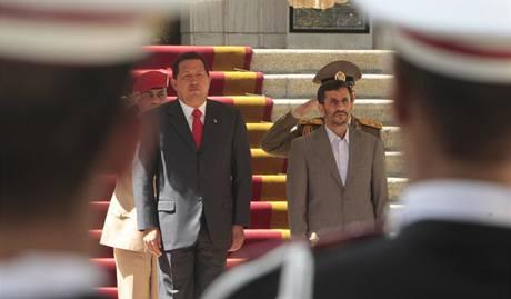 Venezuelský prezident na návštěvě v Íránu (6.9.2009)