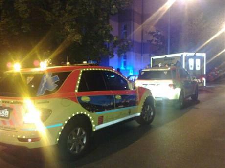 Nehoda v Olšinách (1.9.2009)