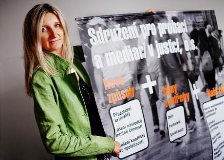 Dagmar Doubravová - předsedkyně Sdružení pro probaci a mediaci v justici