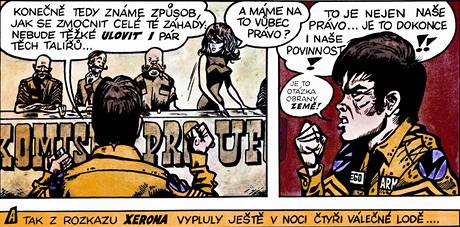 Z komiksu Muriel a and�l�
