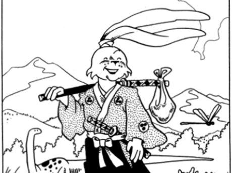 Králičí hrdina Usagi Stana Sakaie