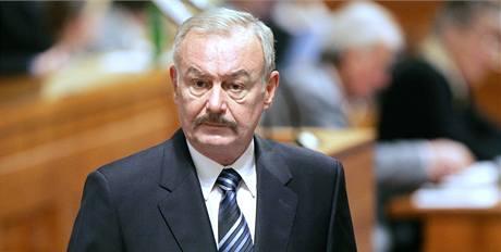 Předseda Senátu Přemysl Sobotka.