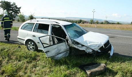 Následky tragické nehody na Lounsku