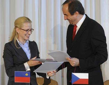 Aurelia Fricková z Lichten�tejnska a Jan Kohout