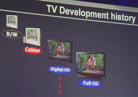 IFA 2009 - den 0, zvláštní představa Panasonicu o černobílé televizi