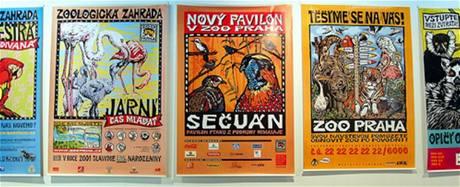 Michal Cihlář: plakáty Zoo Praha