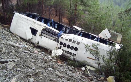K nehodě českého autobusu cestovní kanceláře Firo Tour došlo 1. září při návratu z výletu v horách nedaleko tureckého města Antálie. Všech 43 cestujících bylo po nehodě hospitalizováno.