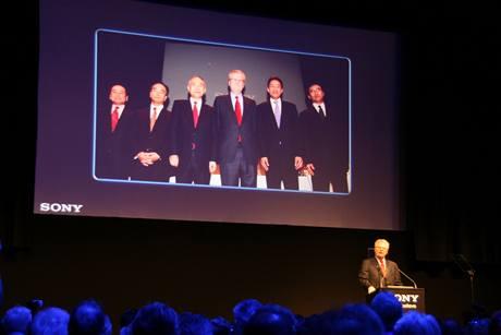 Prezident firmy Sony - Howard Stringer