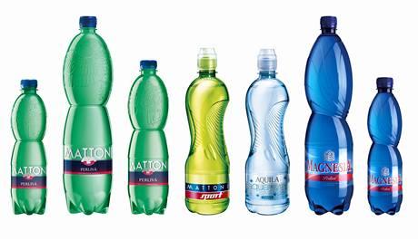 Plastové lahve pro Mattoni od Jana Čapka