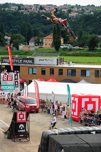 Freestyle Park láká i vyznavače adrenalinových sportů