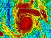 Satelitní snímek hurikánu Jimena v Tichomoří (1.9.2009)