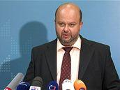 ministr vnitra Martin Pecina