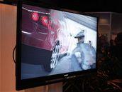 Gran Turismo na 3D LCD panelu Bravia