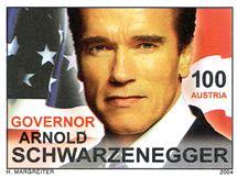 Známka s Arnoldem