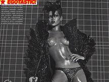 Rihanna v italském Vogue