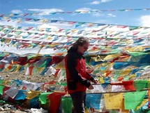 Expedice Sulovského na Cho Oyu. Tibet, posvátné místo