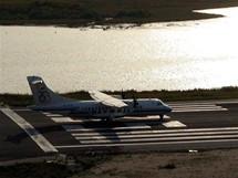 Letiště v Kerkyře na Korfu