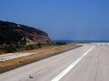 Letiště na ostrově Skiathos, Řecko