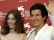 Benátky 09 - Margareth Madeová a Francesco Scianna