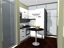 Rekonstrukce panelového bytu 3+1