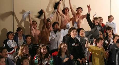 Fanoušci v Argentině sledují Del Potrův triumf ve finále US Open 2009