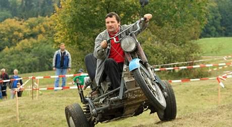 Závod malotraktorů - Vehicle Cup 2009 - Rudici